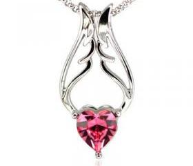 Wing Your Heart Necklace with SWAROVSKI ELEMENTS
